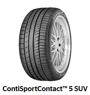 Continental SportContact 5 SUV